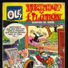 Giornalini: COLECCIÓN OLÉ - BRUGUERA / NÚMERO 94 (MORTADELO Y FILEMÓN) 1ª EDICIÓN. Lote 221467263