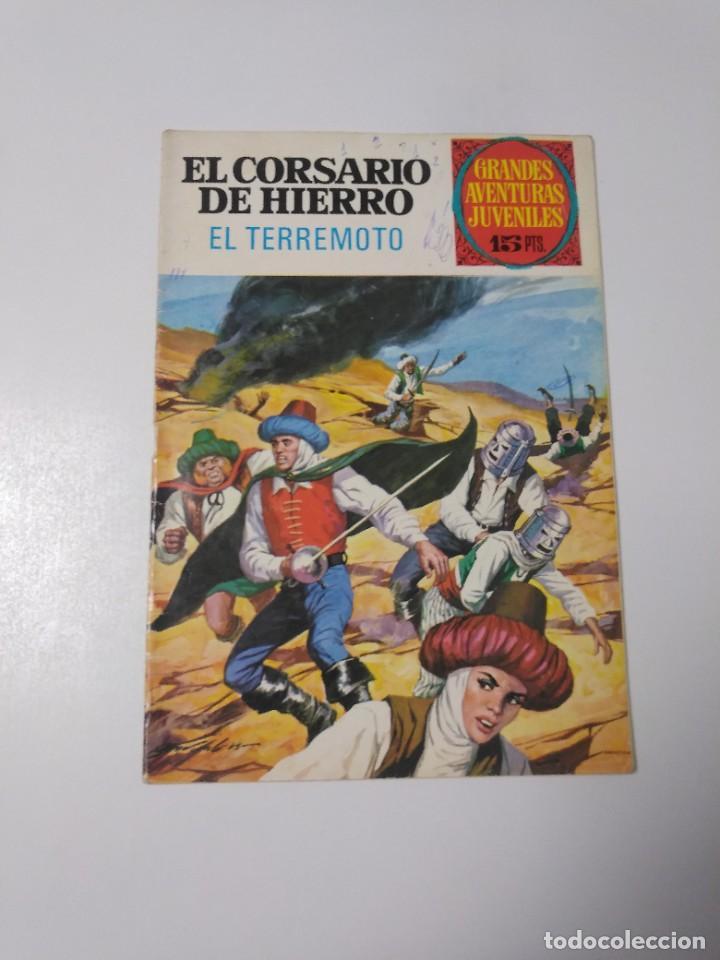 EL CORSARIO DE HIERRO NÚMERO 57 GRANDES AVENTURAS JUVENILES 1973 EDITORIAL BRUGUERA (Tebeos y Comics - Bruguera - Corsario de Hierro)