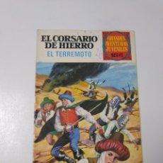 Tebeos: EL CORSARIO DE HIERRO NÚMERO 57 GRANDES AVENTURAS JUVENILES 1973 EDITORIAL BRUGUERA. Lote 221491395