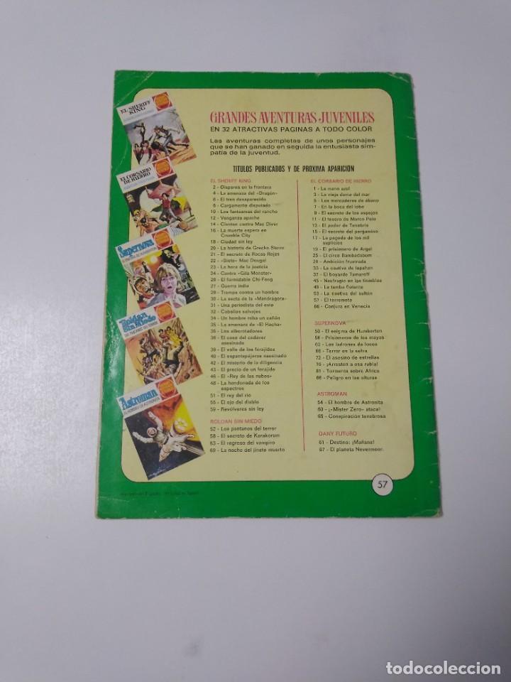 Tebeos: El Corsario de Hierro número 57 Grandes Aventuras Juveniles 1973 Editorial Bruguera - Foto 2 - 221491395