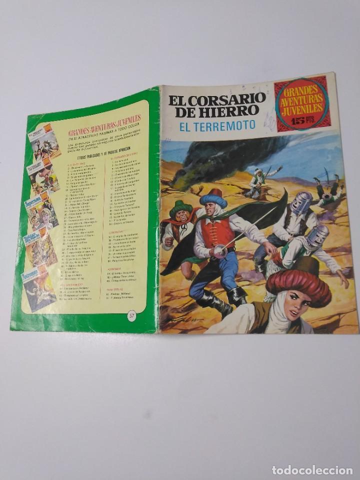 Tebeos: El Corsario de Hierro número 57 Grandes Aventuras Juveniles 1973 Editorial Bruguera - Foto 3 - 221491395