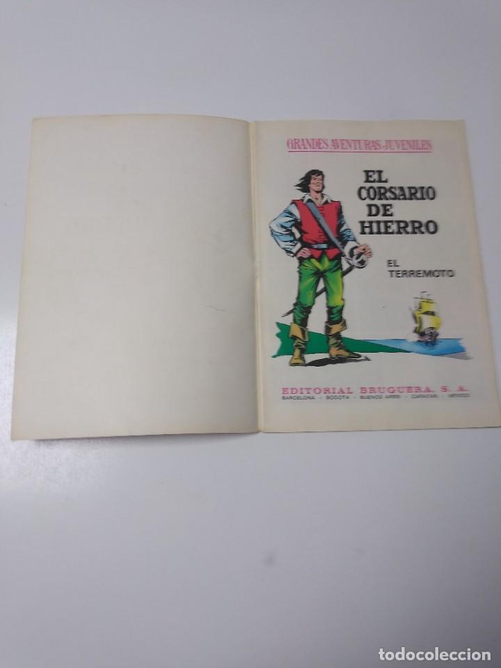 Tebeos: El Corsario de Hierro número 57 Grandes Aventuras Juveniles 1973 Editorial Bruguera - Foto 4 - 221491395