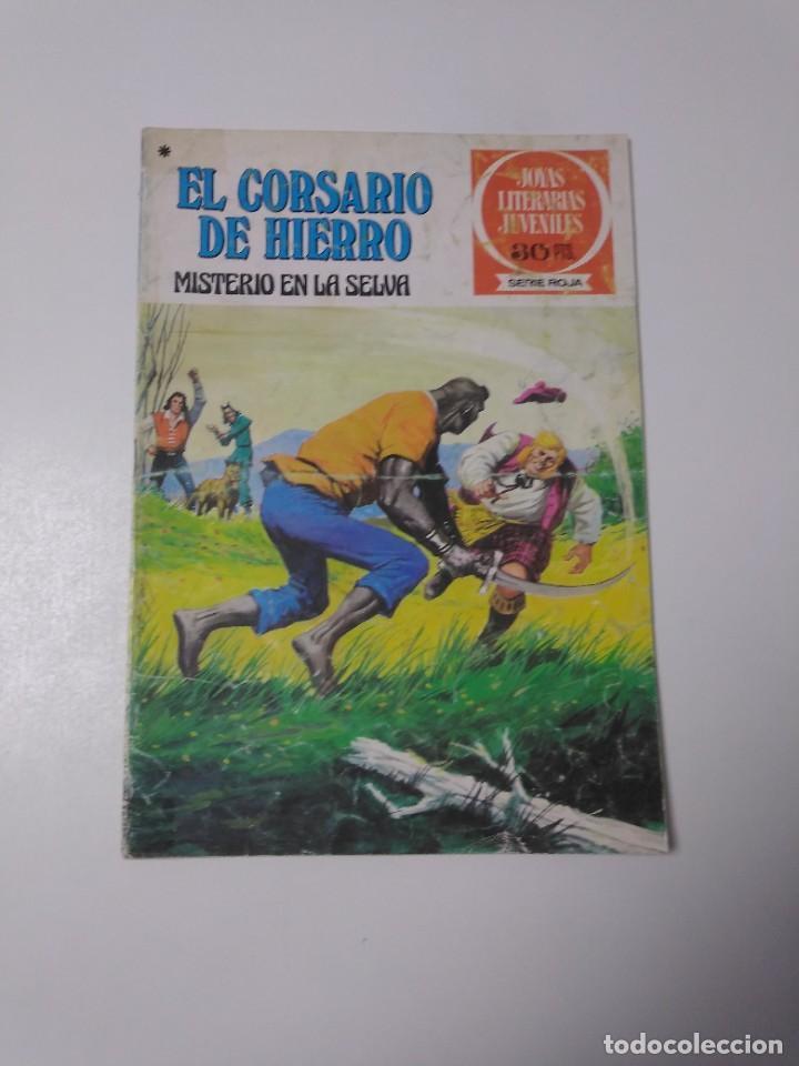 EL CORSARIO DE HIERRO NÚMERO 48 JOYAS LITERARIAS JUVENILES 1 EDICIÓN 1978 EDITORIAL BRUGUERA (Tebeos y Comics - Bruguera - Corsario de Hierro)