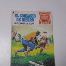 Tebeos: EL CORSARIO DE HIERRO NÚMERO 48 JOYAS LITERARIAS JUVENILES 1 EDICIÓN 1978 EDITORIAL BRUGUERA. Lote 221492517