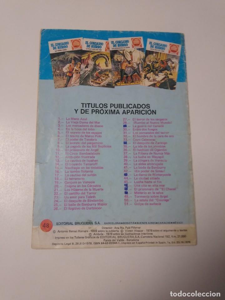 Tebeos: El Corsario de Hierro número 48 Joyas Literarias Juveniles 1 Edición 1978 Editorial Bruguera - Foto 2 - 221492517