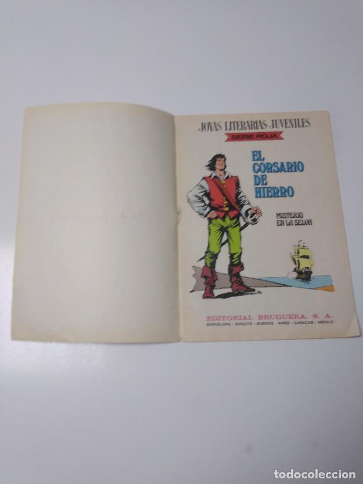 Tebeos: El Corsario de Hierro número 48 Joyas Literarias Juveniles 1 Edición 1978 Editorial Bruguera - Foto 4 - 221492517