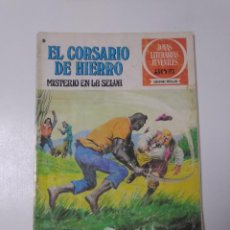 Livros de Banda Desenhada: EL CORSARIO DE HIERRO NÚMERO 48 JOYAS LITERARIAS JUVENILES 1 EDICIÓN 1978 EDITORIAL BRUGUERA. Lote 221493638