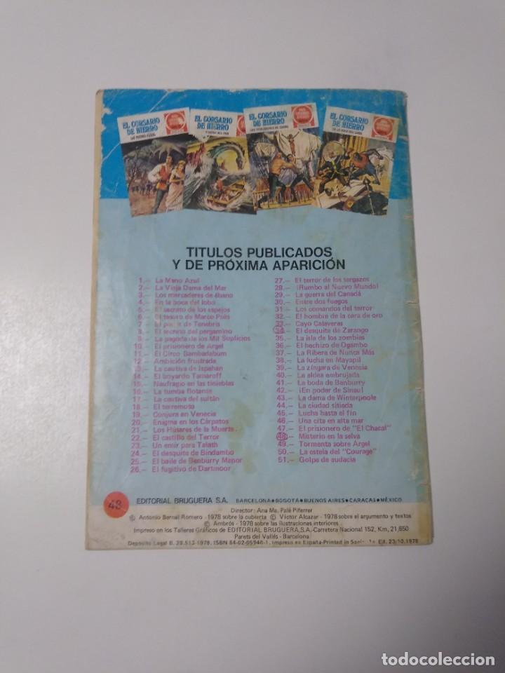 Tebeos: El Corsario de Hierro número 48 Joyas Literarias Juveniles 1 Edición 1978 Editorial Bruguera - Foto 2 - 221493638