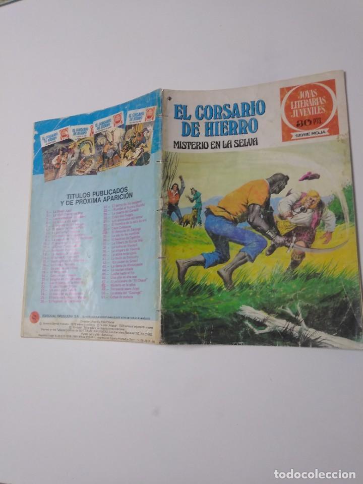 Tebeos: El Corsario de Hierro número 48 Joyas Literarias Juveniles 1 Edición 1978 Editorial Bruguera - Foto 3 - 221493638