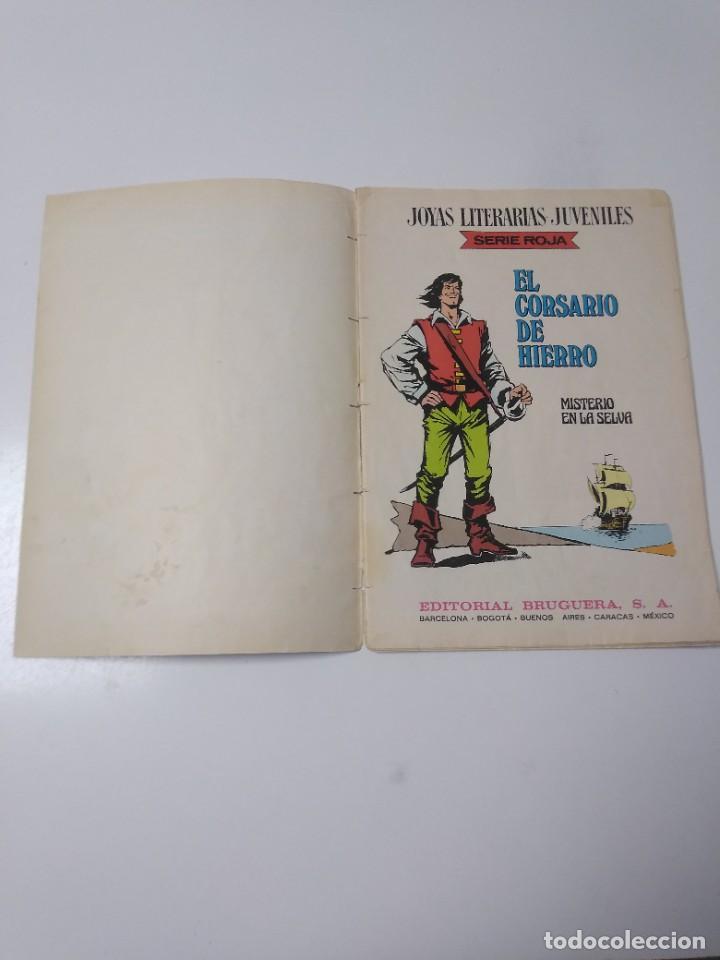 Tebeos: El Corsario de Hierro número 48 Joyas Literarias Juveniles 1 Edición 1978 Editorial Bruguera - Foto 4 - 221493638