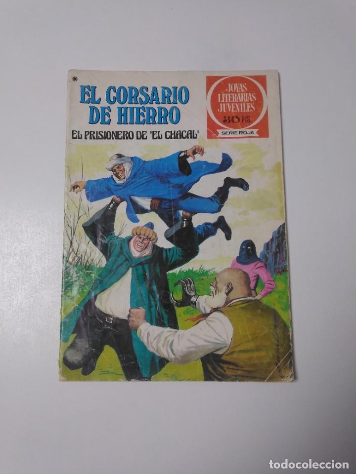 EL CORSARIO DE HIERRO NÚMERO 47 JOYAS LITERARIAS JUVENILES 1 EDICIÓN 1978 EDITORIAL BRUGUERA (Tebeos y Comics - Bruguera - Corsario de Hierro)