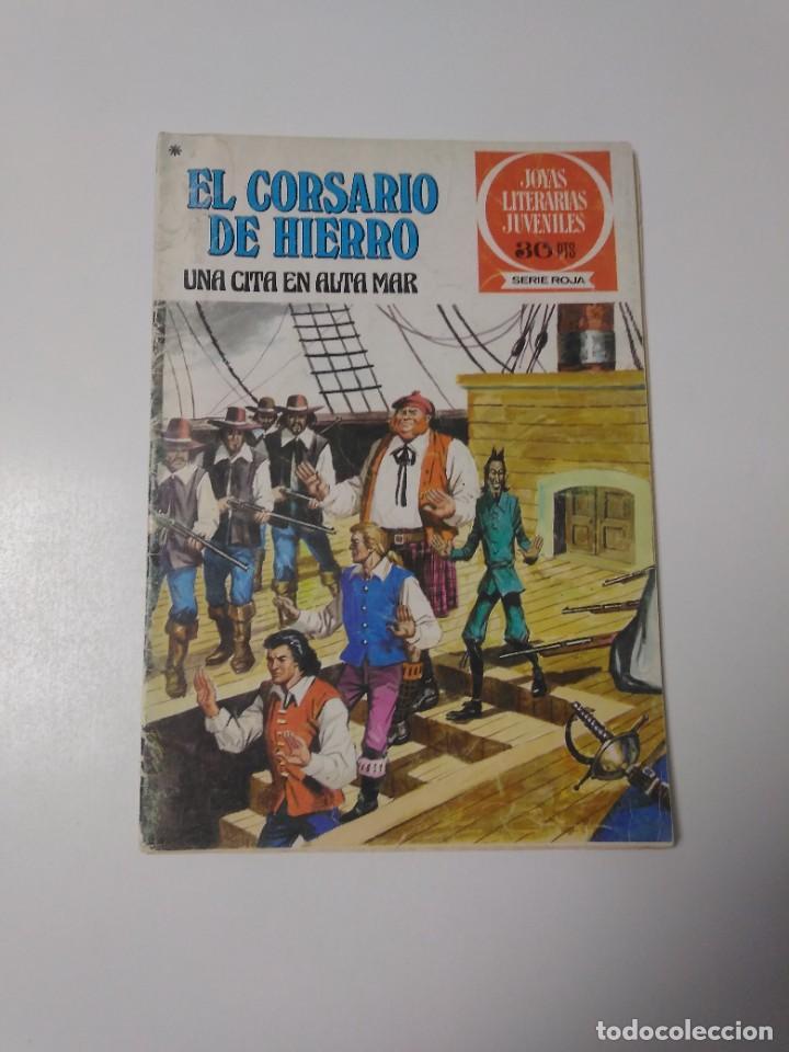 EL CORSARIO DE HIERRO NÚMERO 46 JOYAS LITERARIAS JUVENILES 1 EDICIÓN 1978 EDITORIAL BRUGUERA (Tebeos y Comics - Bruguera - Corsario de Hierro)