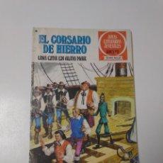 Tebeos: EL CORSARIO DE HIERRO NÚMERO 46 JOYAS LITERARIAS JUVENILES 1 EDICIÓN 1978 EDITORIAL BRUGUERA. Lote 221495720