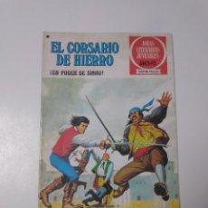 Tebeos: EL CORSARIO DE HIERRO NÚMERO 42 JOYAS LITERARIAS JUVENILES 1 EDICIÓN 1978 EDITORIAL BRUGUERA. Lote 221496372
