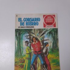 Tebeos: EL CORSARIO DE HIERRO NÚMERO 40 JOYAS LITERARIAS JUVENILES 1 EDICIÓN 1978 EDITORIAL BRUGUERA. Lote 221497112