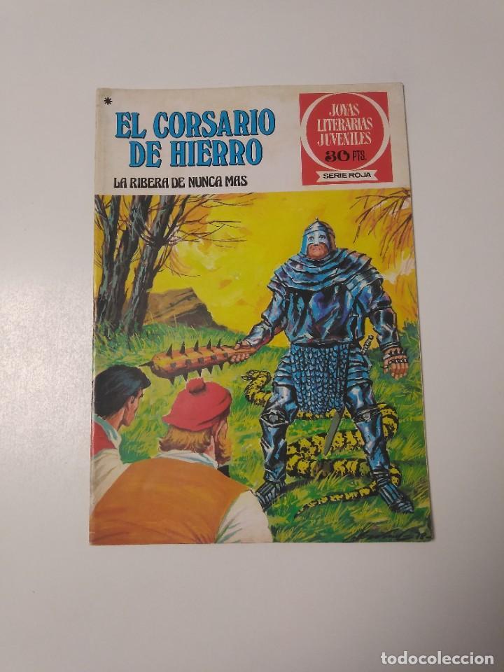 EL CORSARIO DE HIERRO NÚMERO 37 JOYAS LITERARIAS JUVENILES 1 EDICIÓN 1978 EDITORIAL BRUGUERA (Tebeos y Comics - Bruguera - Corsario de Hierro)