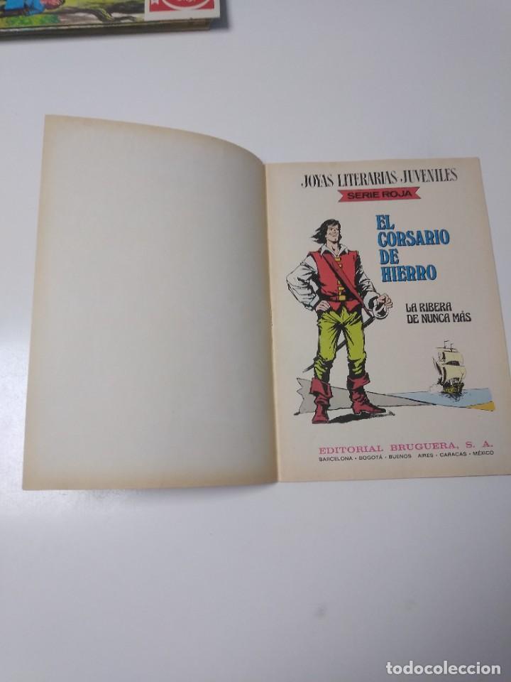 Tebeos: El Corsario de Hierro número 37 Joyas Literarias Juveniles 1 Edición 1978 Editorial Bruguera - Foto 4 - 221498001