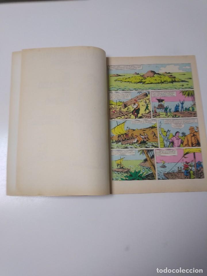 Tebeos: El Corsario de Hierro número 37 Joyas Literarias Juveniles 1 Edición 1978 Editorial Bruguera - Foto 5 - 221498001