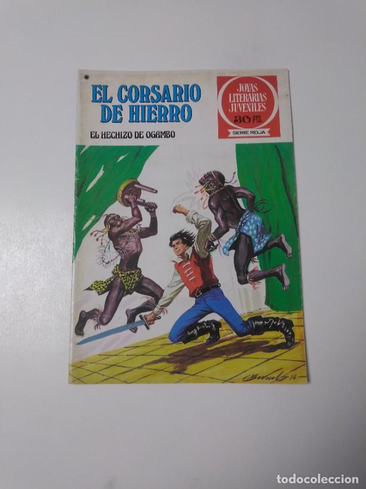 EL CORSARIO DE HIERRO NÚMERO 36 JOYAS LITERARIAS JUVENILES 1 EDICIÓN 1978 EDITORIAL BRUGUERA (Tebeos y Comics - Bruguera - Corsario de Hierro)