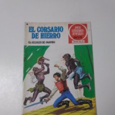 Tebeos: EL CORSARIO DE HIERRO NÚMERO 36 JOYAS LITERARIAS JUVENILES 1 EDICIÓN 1978 EDITORIAL BRUGUERA. Lote 221498516