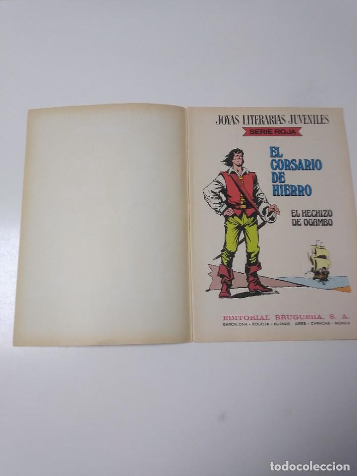 Tebeos: El Corsario de Hierro número 36 Joyas Literarias Juveniles 1 Edición 1978 Editorial Bruguera - Foto 4 - 221498516