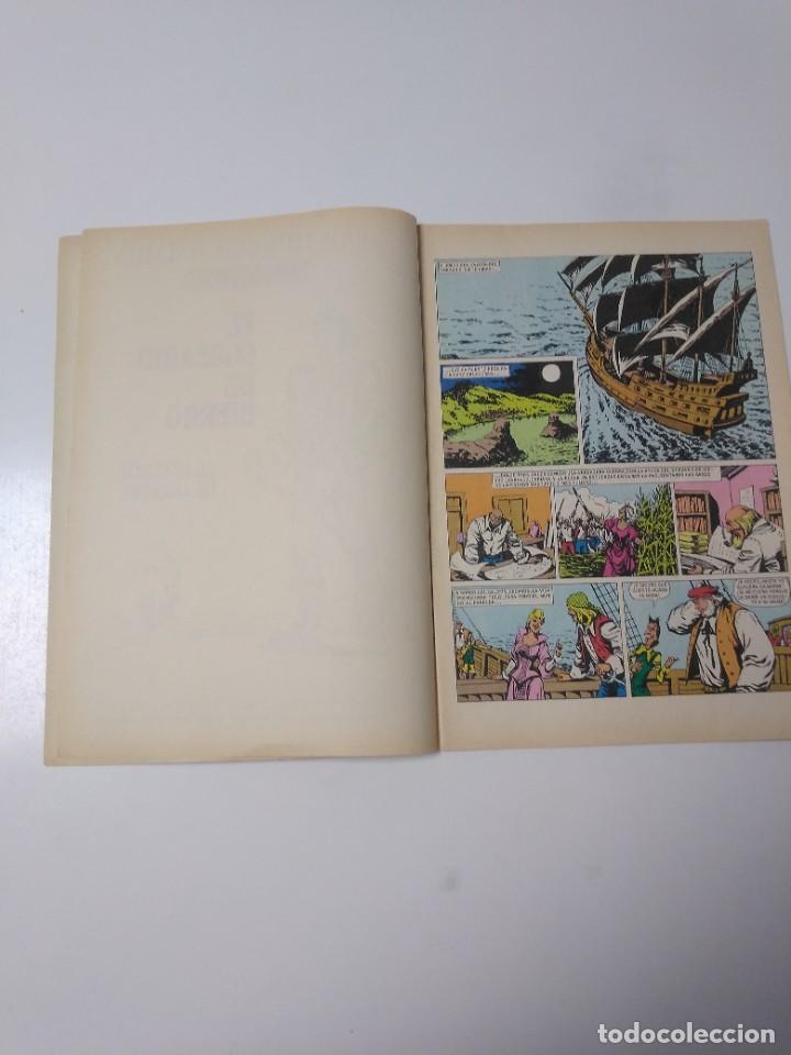 Tebeos: El Corsario de Hierro número 36 Joyas Literarias Juveniles 1 Edición 1978 Editorial Bruguera - Foto 5 - 221498516