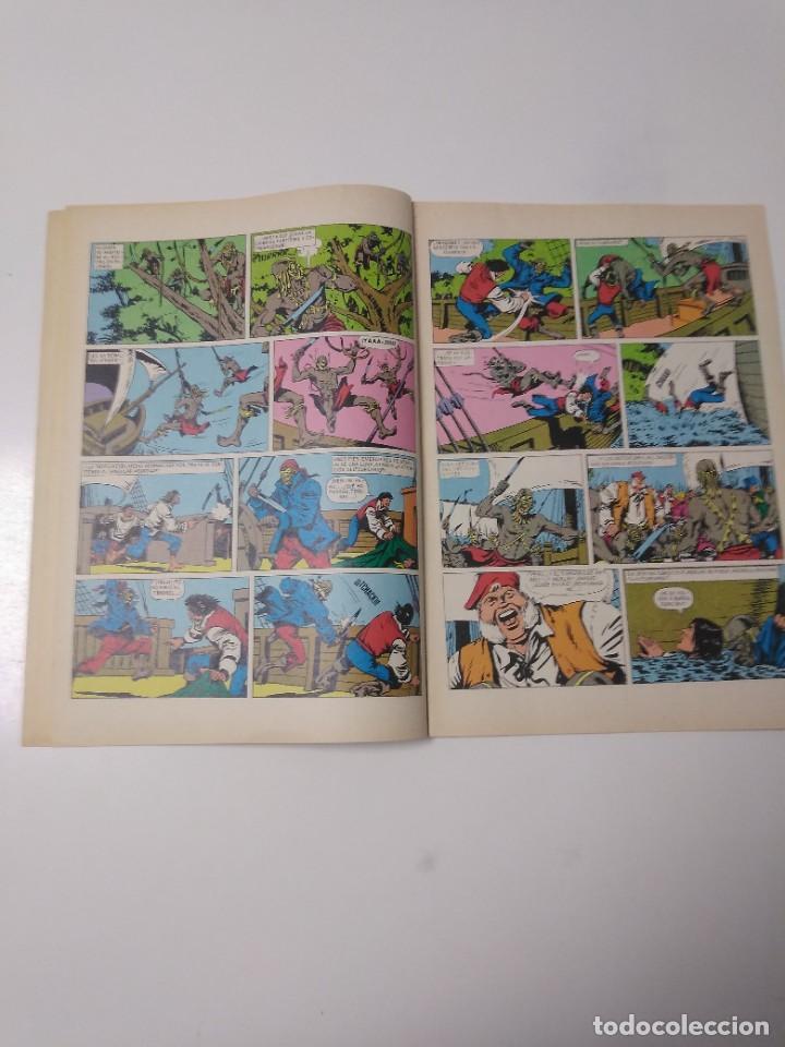 Tebeos: El Corsario de Hierro número 36 Joyas Literarias Juveniles 1 Edición 1978 Editorial Bruguera - Foto 6 - 221498516
