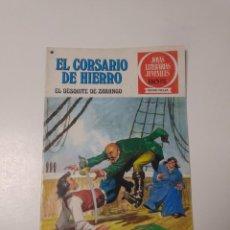 Tebeos: EL CORSARIO DE HIERRO NÚMERO 34 JOYAS LITERARIAS JUVENILES 1 EDICIÓN 1978 EDITORIAL BRUGUERA. Lote 221499001