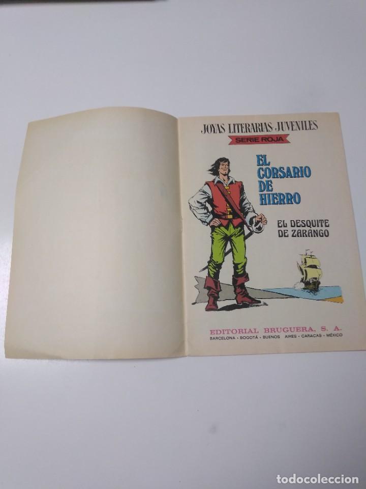 Tebeos: El Corsario de Hierro número 34 Joyas Literarias Juveniles 1 Edición 1978 Editorial Bruguera - Foto 4 - 221499001