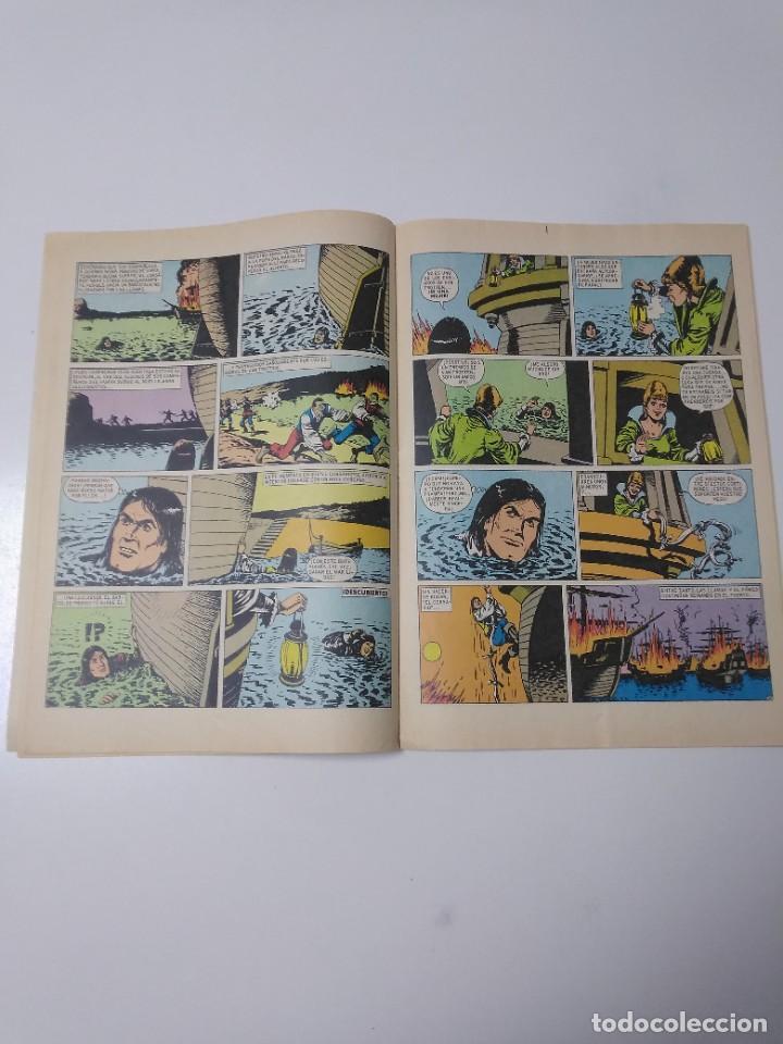 Tebeos: El Corsario de Hierro número 34 Joyas Literarias Juveniles 1 Edición 1978 Editorial Bruguera - Foto 6 - 221499001