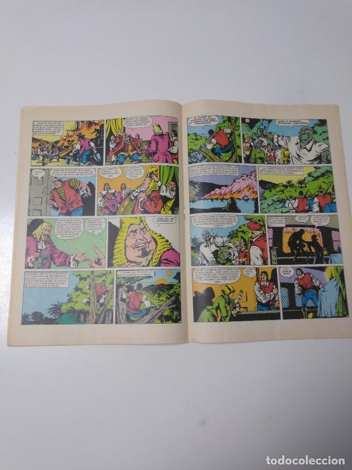 Tebeos: El Corsario de Hierro número 34 Joyas Literarias Juveniles 1 Edición 1978 Editorial Bruguera - Foto 7 - 221499001