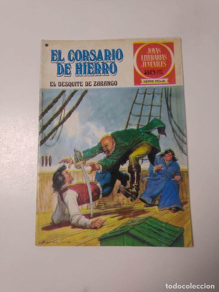EL CORSARIO DE HIERRO NÚMERO 34 JOYAS LITERARIAS JUVENILES 1 EDICIÓN 1978 EDITORIAL BRUGUERA (Tebeos y Comics - Bruguera - Corsario de Hierro)