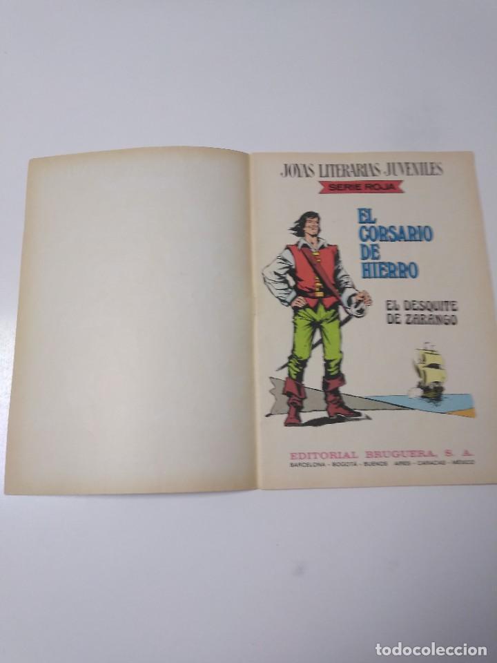 Tebeos: El Corsario de Hierro número 34 Joyas Literarias Juveniles 1 Edición 1978 Editorial Bruguera - Foto 4 - 221499713