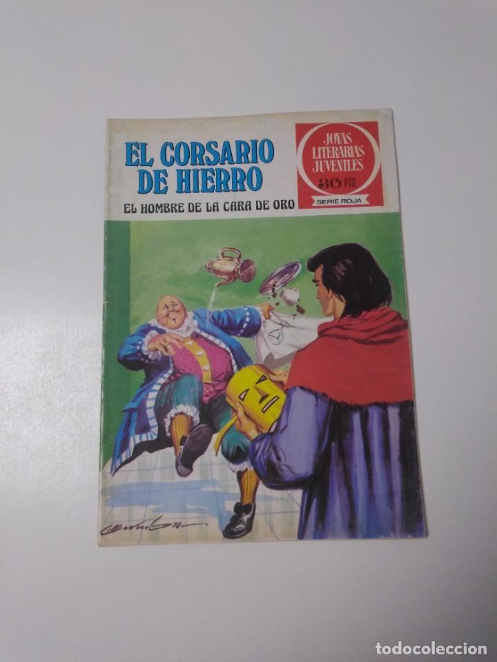 EL CORSARIO DE HIERRO NÚMERO 32 JOYAS LITERARIAS JUVENILES 1 EDICIÓN 1978 EDITORIAL BRUGUERA (Tebeos y Comics - Bruguera - Corsario de Hierro)