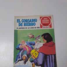 Tebeos: EL CORSARIO DE HIERRO NÚMERO 32 JOYAS LITERARIAS JUVENILES 1 EDICIÓN 1978 EDITORIAL BRUGUERA. Lote 221500258