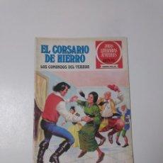 Tebeos: EL CORSARIO DE HIERRO NÚMERO 31 JOYAS LITERARIAS JUVENILES 1 EDICIÓN 1978 EDITORIAL BRUGUERA. Lote 221500732