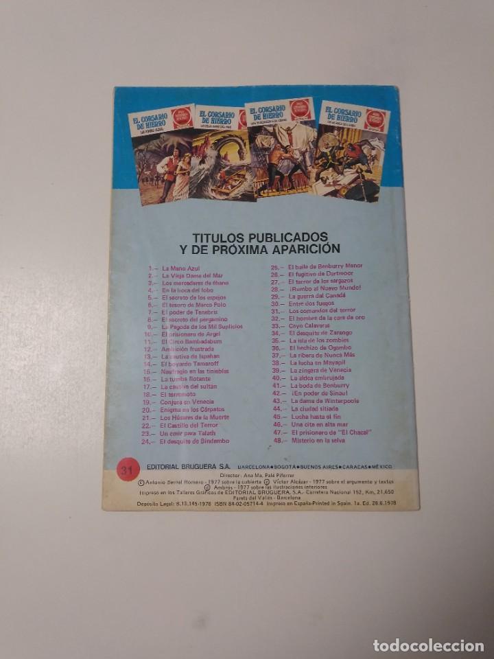 Tebeos: El Corsario de Hierro número 31 Joyas Literarias Juveniles 1 Edición 1978 Editorial Bruguera - Foto 2 - 221500732