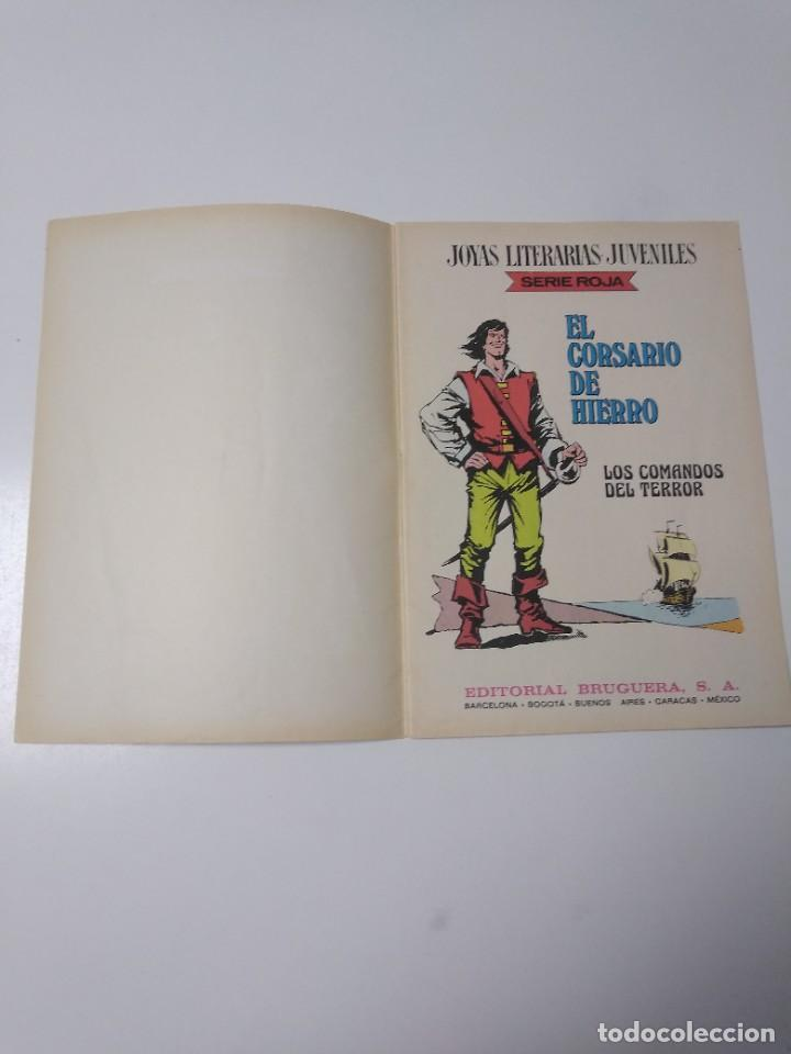 Tebeos: El Corsario de Hierro número 31 Joyas Literarias Juveniles 1 Edición 1978 Editorial Bruguera - Foto 4 - 221500732