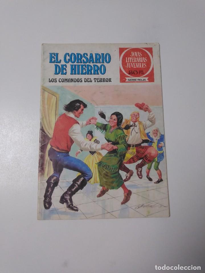 EL CORSARIO DE HIERRO NÚMERO 31 JOYAS LITERARIAS JUVENILES 1 EDICIÓN 1978 EDITORIAL BRUGUERA (Tebeos y Comics - Bruguera - Corsario de Hierro)