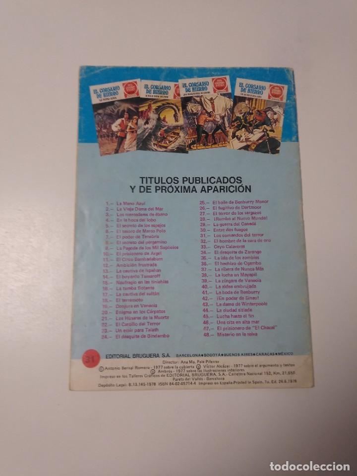 Tebeos: El Corsario de Hierro número 31 Joyas Literarias Juveniles 1 Edición 1978 Editorial Bruguera - Foto 2 - 221501296