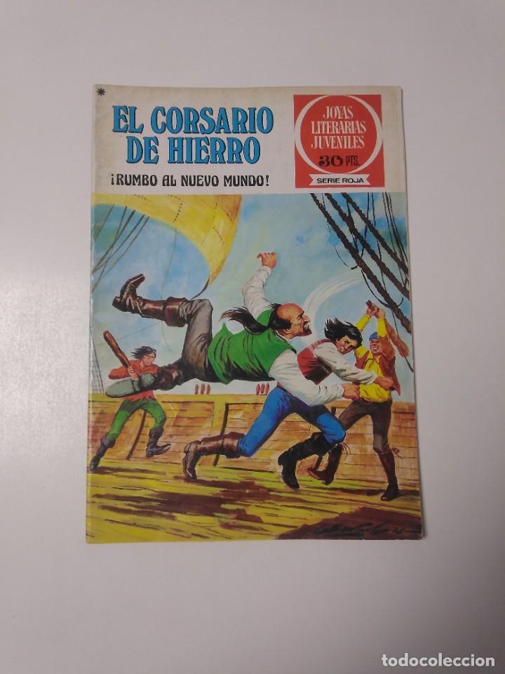 EL CORSARIO DE HIERRO NÚMERO 28 JOYAS LITERARIAS JUVENILES 1 EDICIÓN 1978 EDITORIAL BRUGUERA (Tebeos y Comics - Bruguera - Corsario de Hierro)