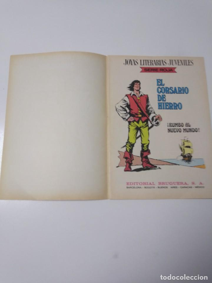 Tebeos: El Corsario de Hierro número 28 Joyas Literarias Juveniles 1 Edición 1978 Editorial Bruguera - Foto 4 - 221501763