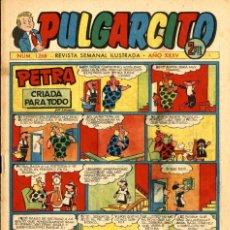 Tebeos: PULGARCITO 1268 (BRUGUERA, 1956) CON EL INSPECTOR DAN DE MACABICH. Lote 221501811
