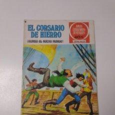 Tebeos: EL CORSARIO DE HIERRO NÚMERO 28 JOYAS LITERARIAS JUVENILES 1 EDICIÓN 1978 EDITORIAL BRUGUERA. Lote 221502163