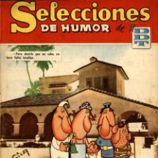 Tebeos: SELECCIONES DE HUMOR DE EL DDT-125 (BRUGUERA, 16-2-1959) CON SEGURA EN PORTADA. Lote 221502338