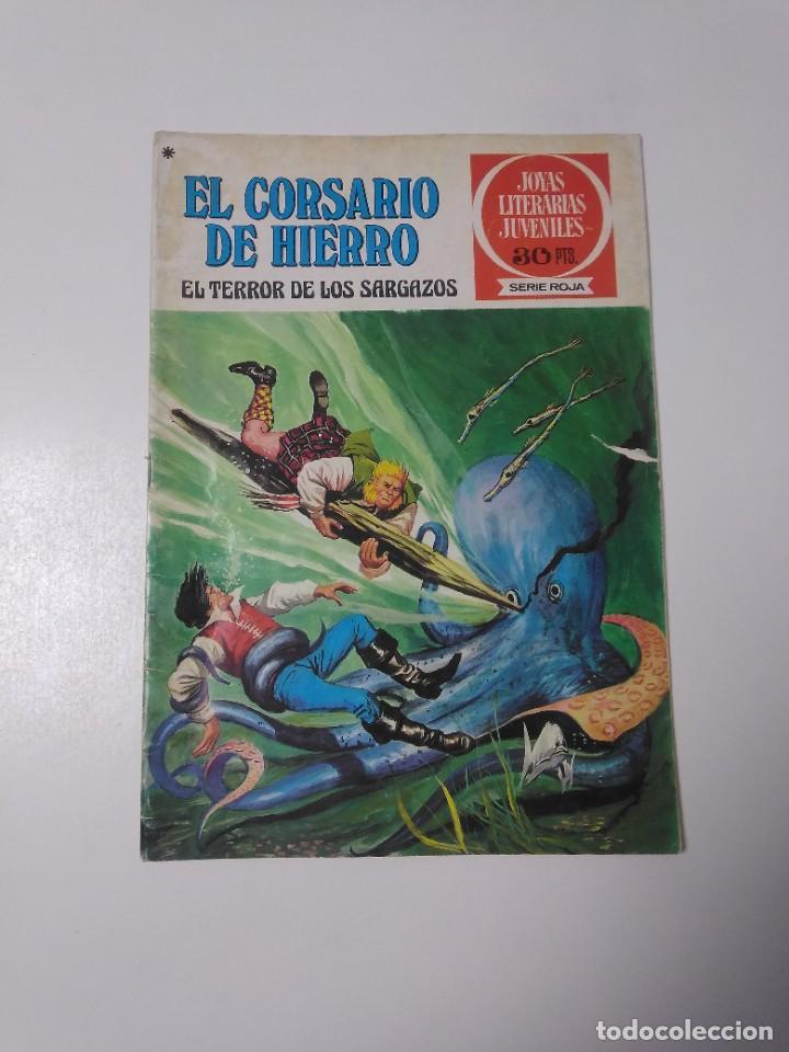 EL CORSARIO DE HIERRO NÚMERO 27 JOYAS LITERARIAS JUVENILES 1 EDICIÓN 1978 EDITORIAL BRUGUERA (Tebeos y Comics - Bruguera - Corsario de Hierro)