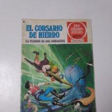 Tebeos: EL CORSARIO DE HIERRO NÚMERO 27 JOYAS LITERARIAS JUVENILES 1 EDICIÓN 1978 EDITORIAL BRUGUERA. Lote 221502637