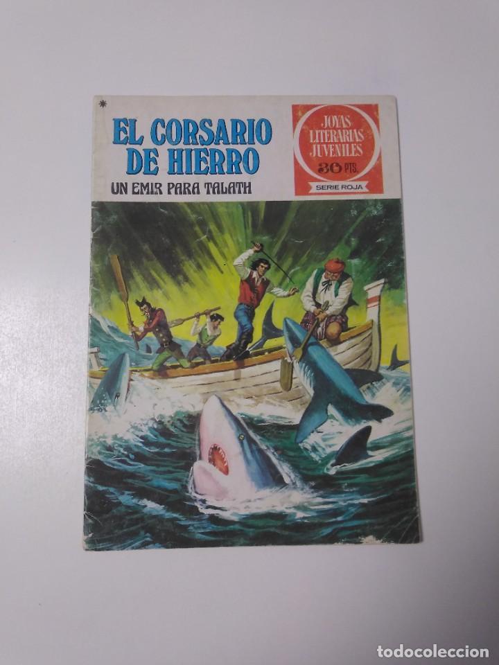 EL CORSARIO DE HIERRO NÚMERO 23 JOYAS LITERARIAS JUVENILES 1 EDICIÓN 1978 EDITORIAL BRUGUERA (Tebeos y Comics - Bruguera - Corsario de Hierro)