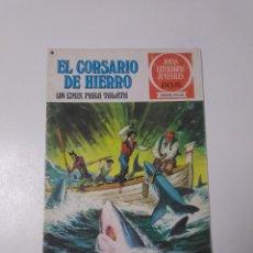 Tebeos: EL CORSARIO DE HIERRO NÚMERO 23 JOYAS LITERARIAS JUVENILES 1 EDICIÓN 1978 EDITORIAL BRUGUERA. Lote 221503030
