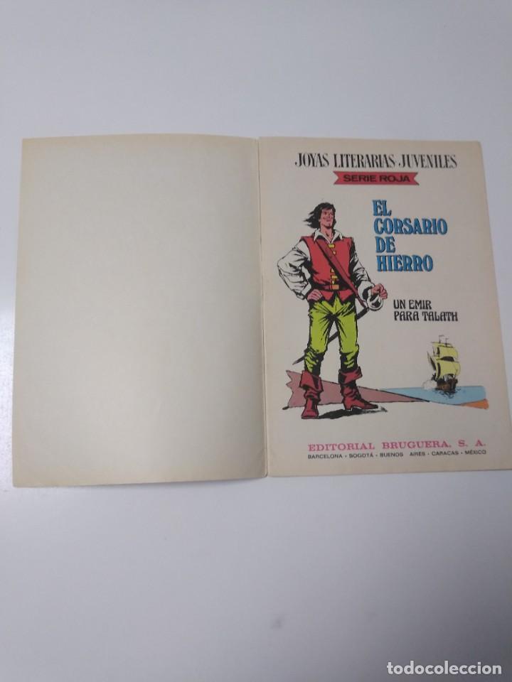 Tebeos: El Corsario de Hierro número 23 Joyas Literarias Juveniles 1 Edición 1978 Editorial Bruguera - Foto 4 - 221503030